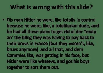Wrong Slide 2