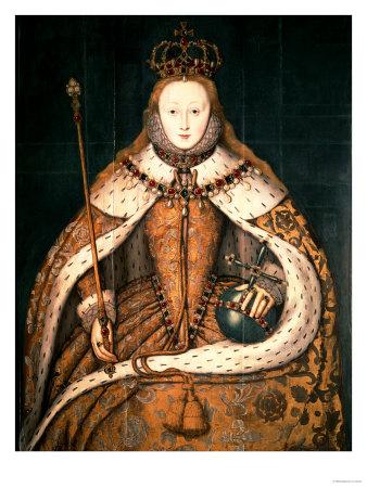 Coronation Portrait Elizabeth