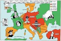 europe map 1914